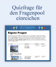 Quizfrage fr den Fragenpool einreichen