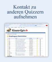 Kontakt zu anderen Quizzern aufnehmen